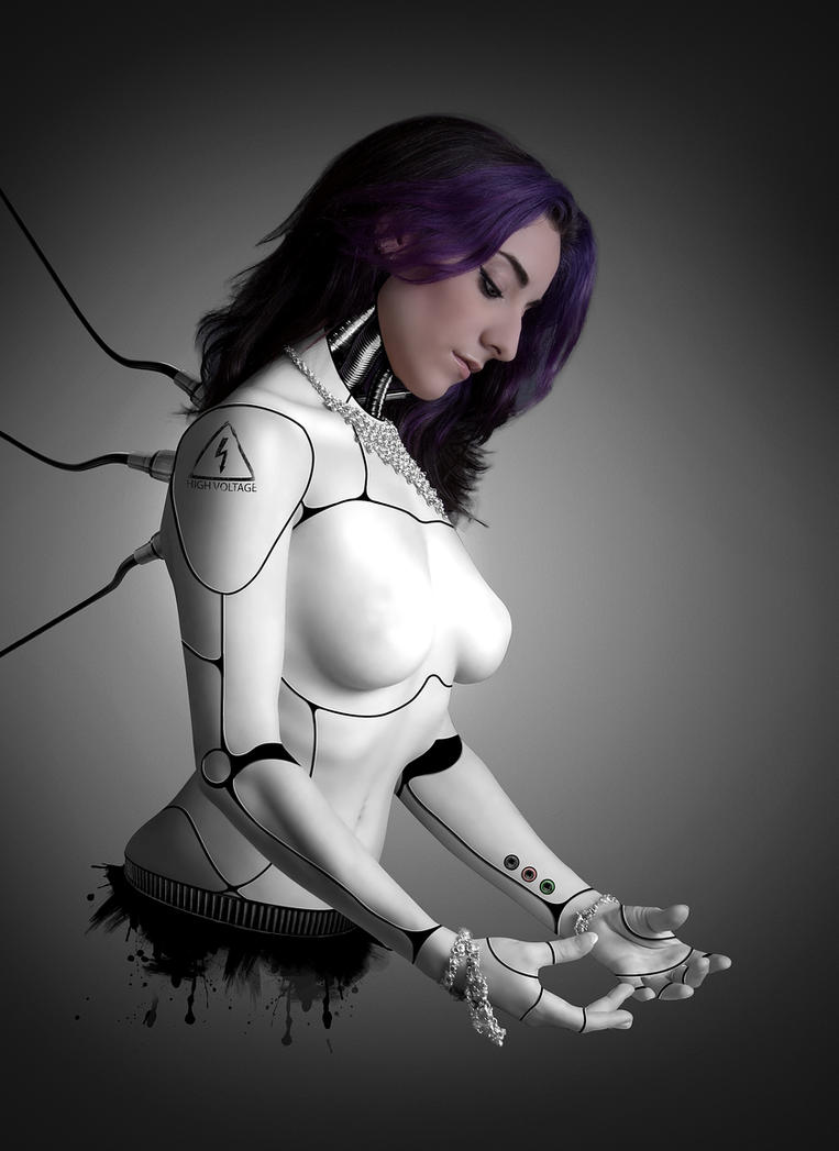 Female Cyborg  III by Enn-SRSBusiness