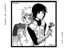 Special gift for Gaara by D-Aliana