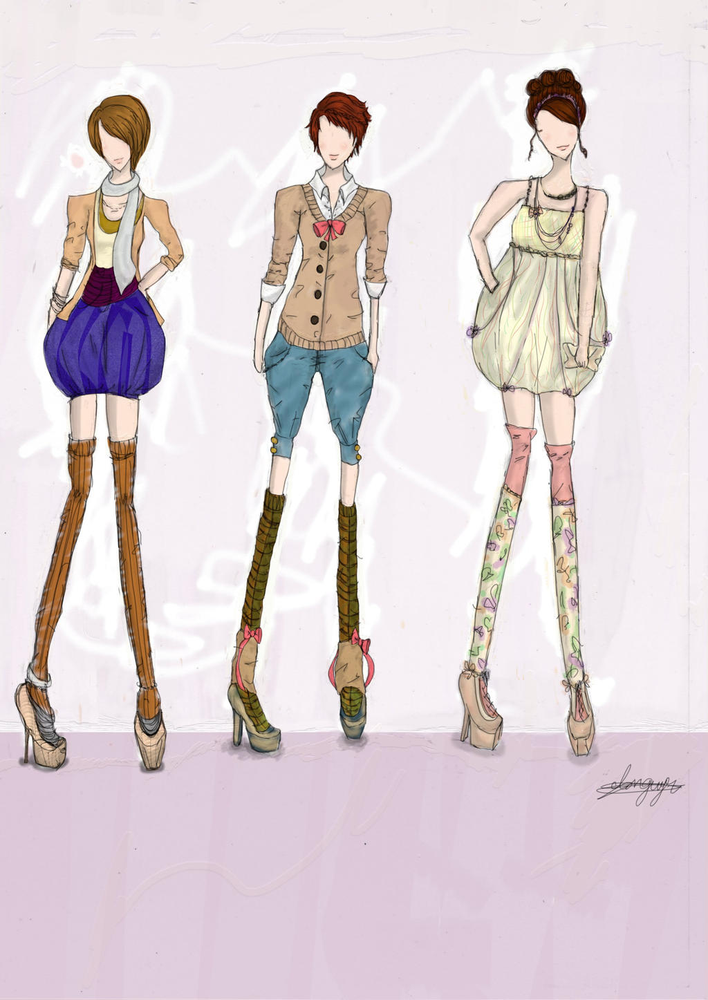 Fashion Show Casual Style By Cevasion On Deviantart