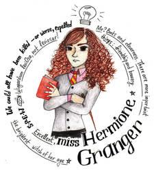 miss Granger by Sam-Mo