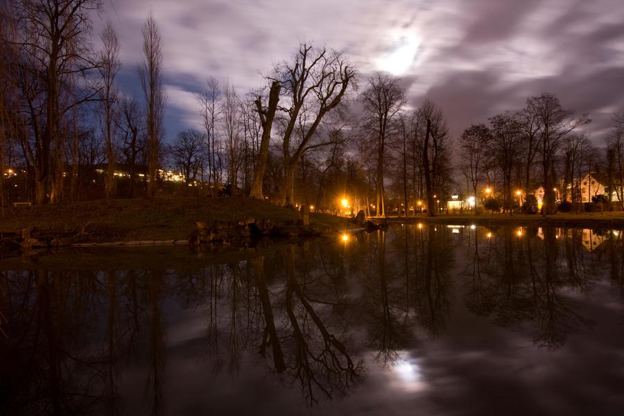 Kurpark Bad Mergentheim by kopfgeist79