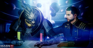 Alien Friendship (Mass Effect 3)