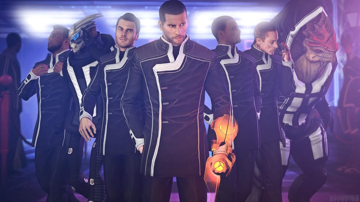 Gentlemen? (Mass Effect 3) by toxioneer