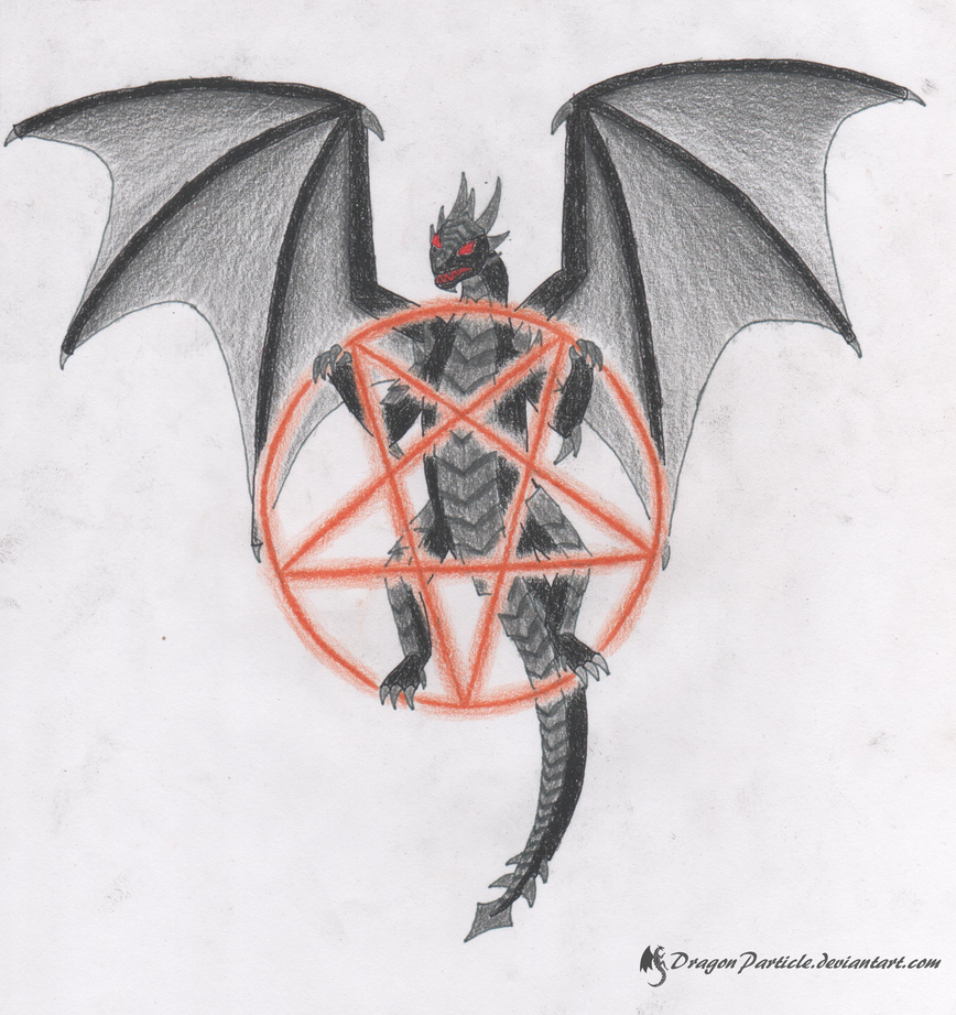 Symbol Of Darkness By Dragonparticle On Deviantart