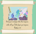 MLP Christian quotes. Celestia