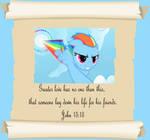 MLP Christian quotes Rainbow Dash