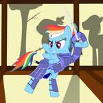 Samurai Rainbow Dash
