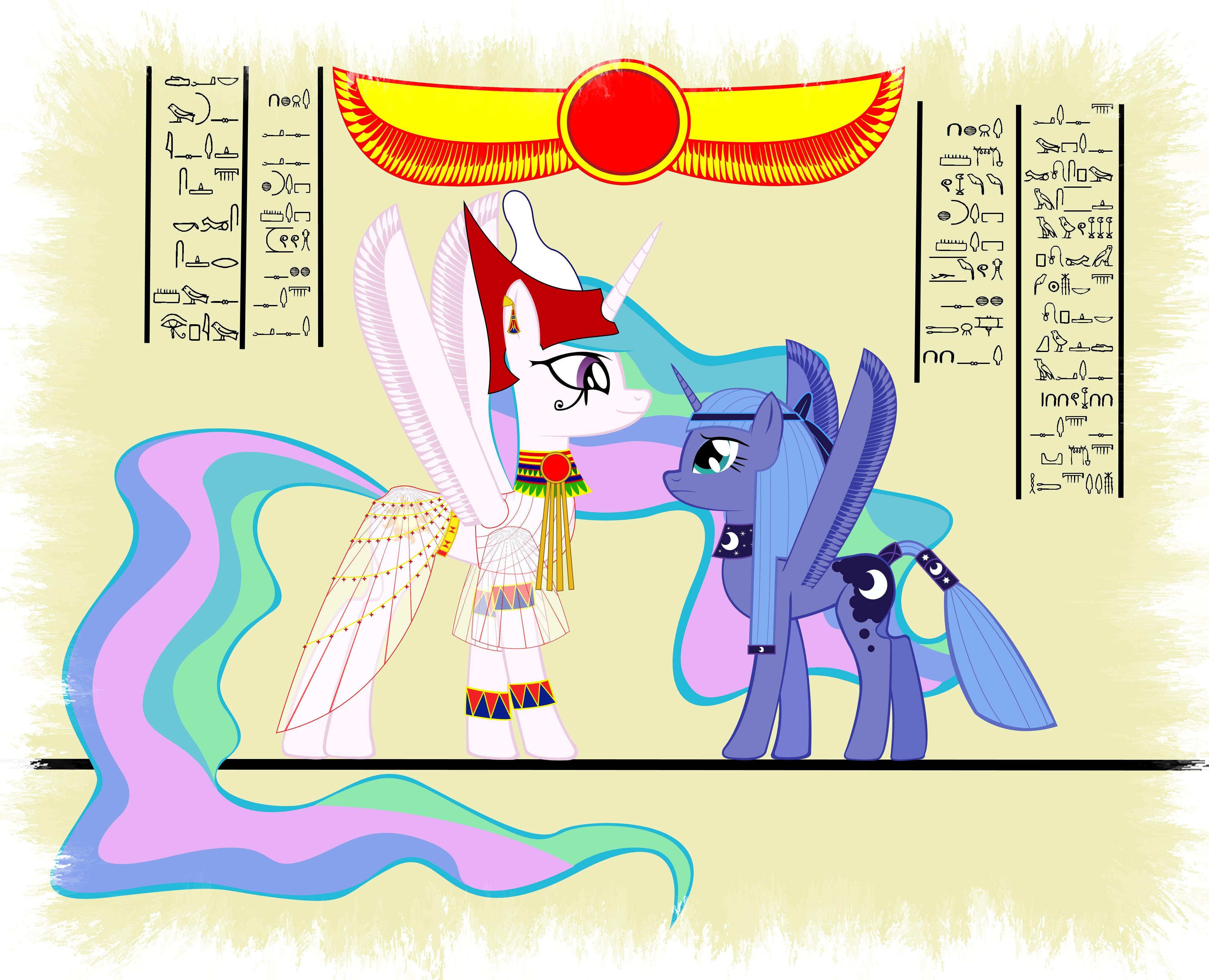 Egyptian ponies part 2 by GennadyKalugina