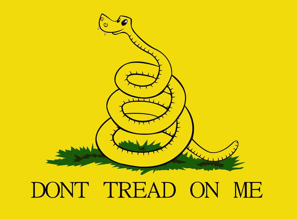 don 39 t tread on me flag by gennadykalugina on deviantart
