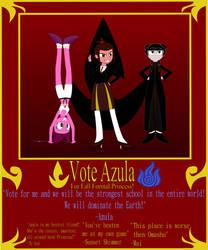 Vote Azula for Fall Formal Princess! by GennadyKalugina