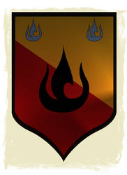 Fire Nation coat of arms by GennadyKalugina