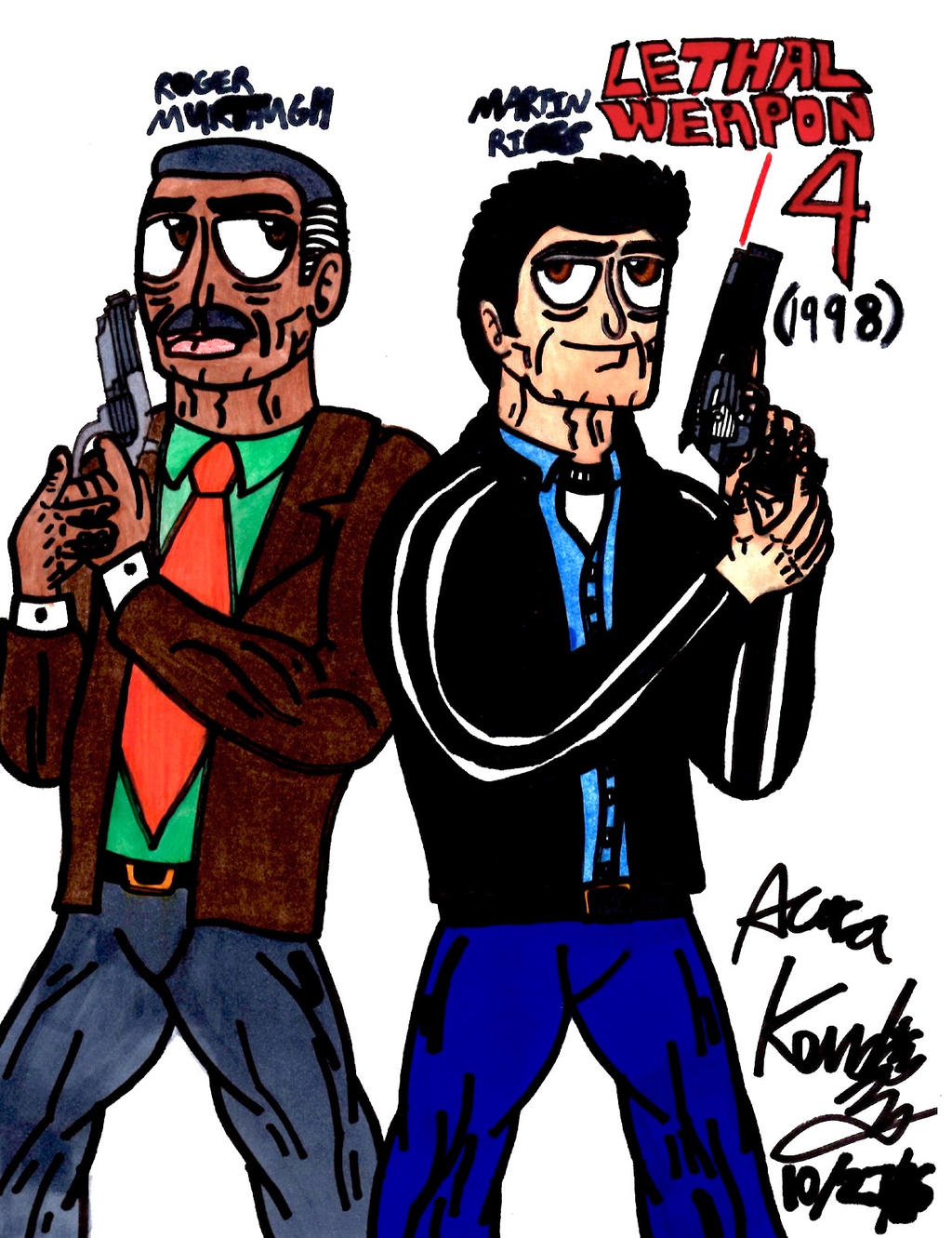 Lethal Weapon 4 1998 By Prime55 On Deviantart