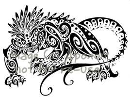 Spiral Nexu Commission by apox0n