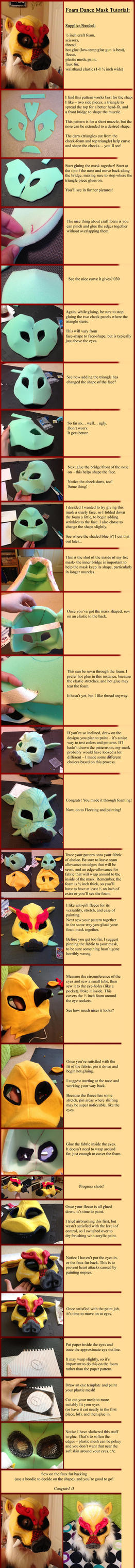 How to Make a Dance Mask - Tutorial by apox0n