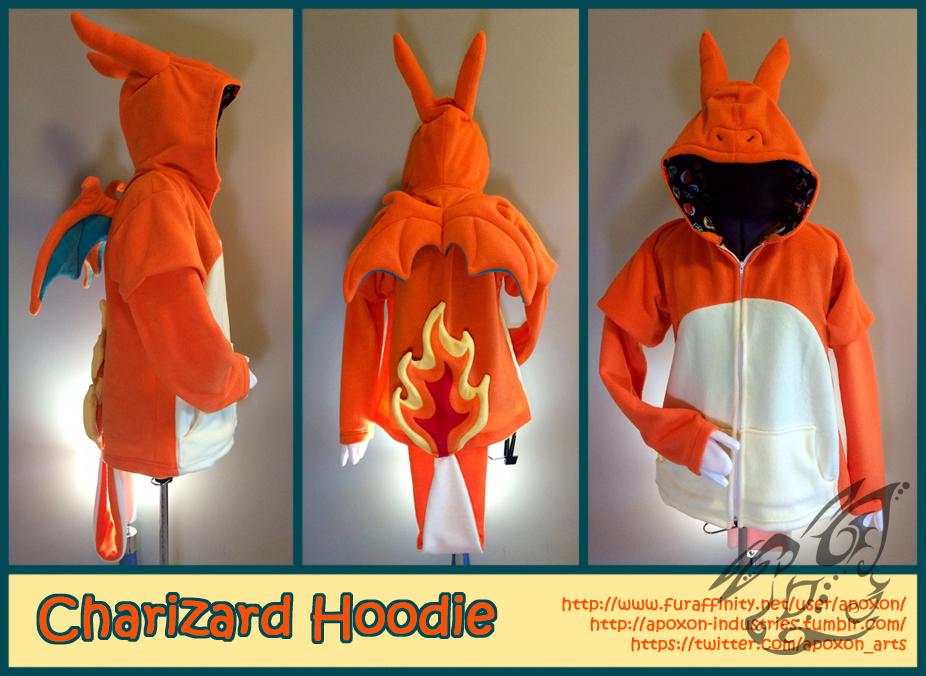 Charizard Hoodie by apox0n