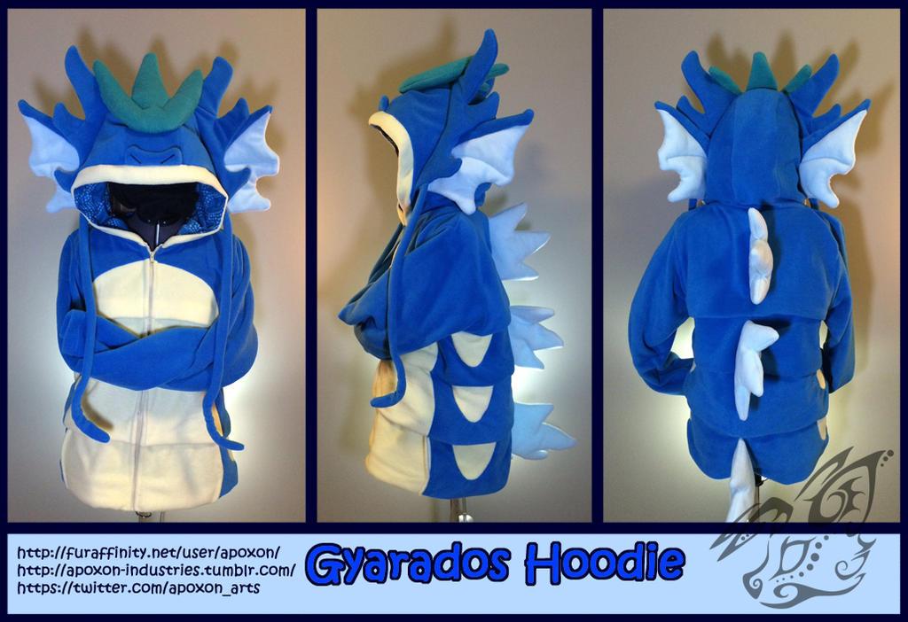 Gyarados Hoodie by apox0n