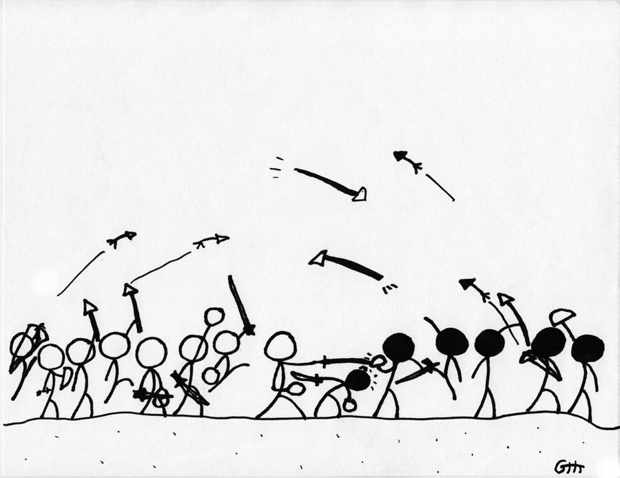 Stick Man War