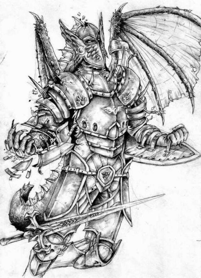 Medieval Armor Tattoo Designs