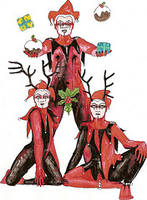 jesters of yule by inkzoo