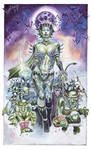 Goblin Queen Commission by tiwali