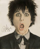 Billie Joe Armstrong Signed by BeachBum190