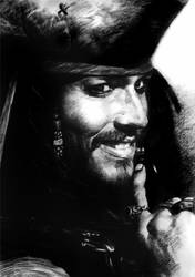 Captain Jack Sparrow by BeachBum190