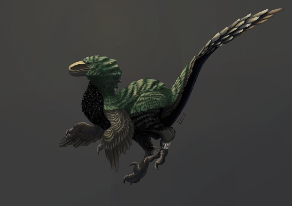 Novaraptor AP-76 by Nyerske