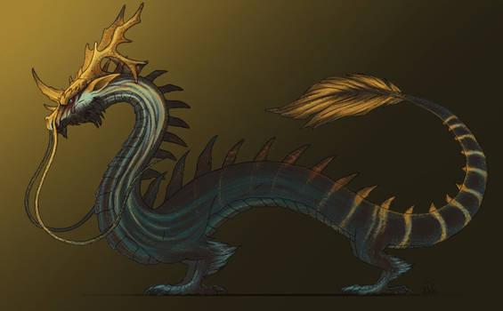 Draconia (Eastern Dragon) - Blue Kaiser