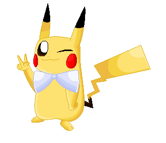 New Year Pikachu by Mew38