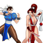 Player Select: Chun-Li VS Mai