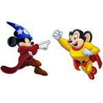 Player Select: Mickey Mouse VS Mighty Mouse