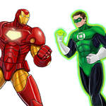 Player Select: Iron Man VS Green Lantern