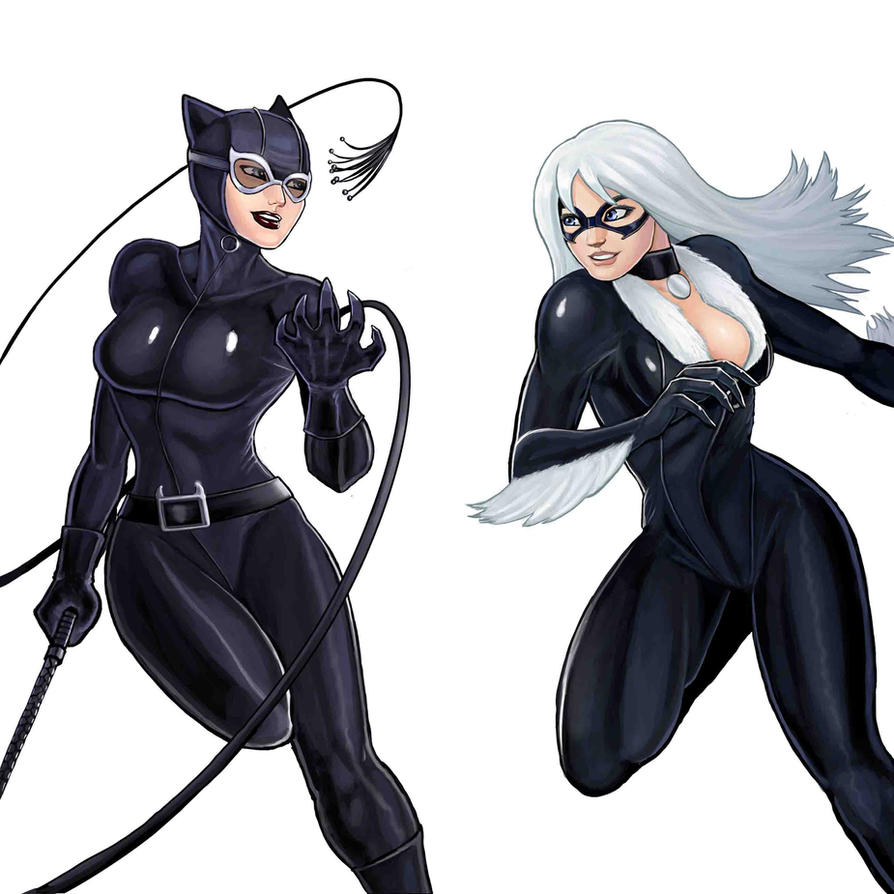 Player Select Catwoman VS Black Cat by Garoooooh ...  sc 1 st  DeviantArt & Player Select: Catwoman VS Black Cat by Garoooooh on DeviantArt