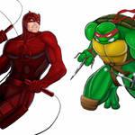 Player Select: Daredevil VS Raphael