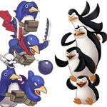 Player Select: Prinnies VS Penguins of Madagascar