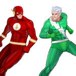 Player Select: Flash VS Quicksilver