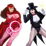Player Select: Scarlet Witch VS Zatanna