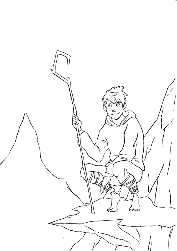 Jack Frost Free Coloring Pages