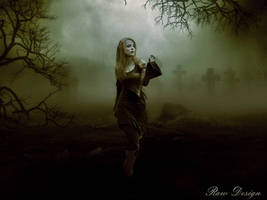 Cemetery  Photo Manipulation by Rshant