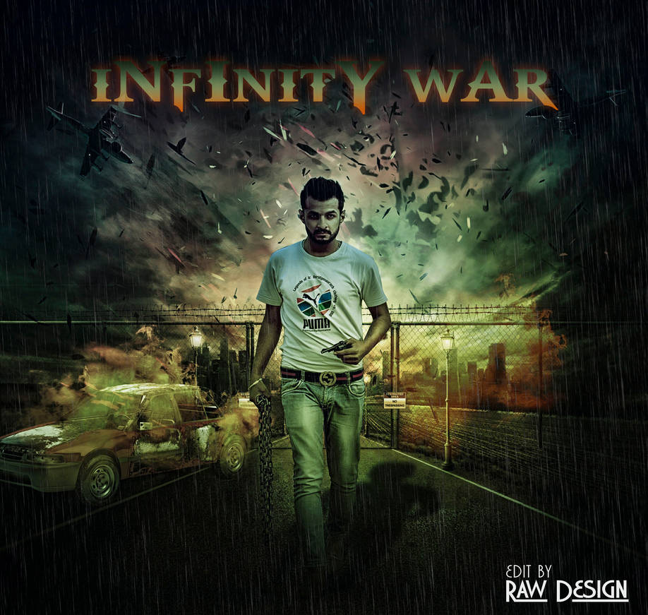 Infinity War PhotoManipulation by Rshant