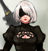 YoRHa No.2 Type B by flatteeth