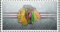 Blackhawks Logo Stamp by ASGARDlAN