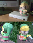 Young Link - Papercraft