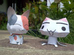 Two Kittens - Papercraft