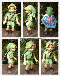 The Hero of Time - Papercraft by Lyrin-83