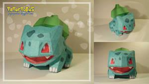 Bulbasaur Doll Papercraft
