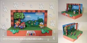 Paper Mario Diorama