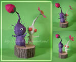 White and Purple Pikmin