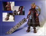 KH Cloud Strife Papercraft