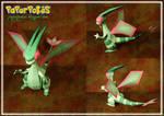 Flygon Papercraft